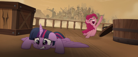 "Pinkie Pie ""best escape plan ever!"" MLPTM"