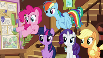 """Pinkie Pie """"we should call you 'Flutterbold' now!"""" S7E5"""