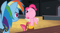 Pinkie Pie being dramatic S2E11