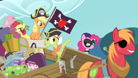 Pinkie in bandit clothing S4E09