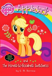 Portada de Applejack and the Honest-to-Goodness Switcheroo