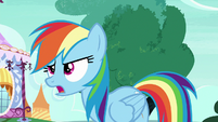 "Rainbow Changeling ""very important friendship business"" S6E25"