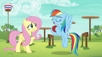 Rainbow Dash --it's all about ball control-- S6E18