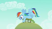 Rainbow says --gotcha!-- to Big McIntosh S6E15