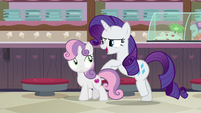 Rarity -do I know my baby sister- S7E6
