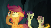 "Scootaloo ""how long will that be?!"" S7E16"