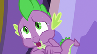 Spike -you must be hungry from your travels- S7E15