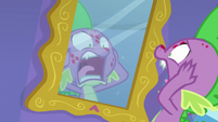 Spike screaming at his breakout S8E11