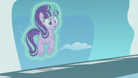 Starlight Glimmer levitating herself S5E25