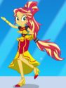 Sunset Shimmer Crystal Rainboom ID EGS1