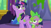 "Twilight Sparkle ""that wasn't too bad"" S7E3"