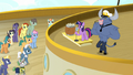 Twilight Sparkle addressing the cruise ponies S7E22.png