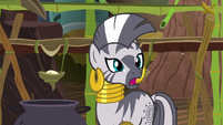 "Zecora ""make your hair stand on end"" S7E19"
