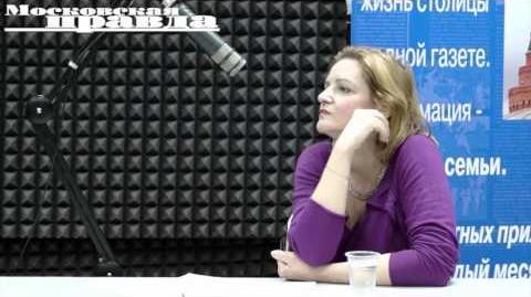 """Программа """"Слушаем кино"""". Гость - Ольга Голованова"""