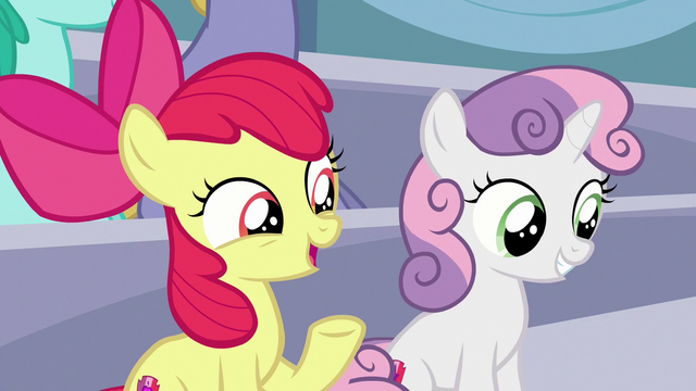 """File:Apple Bloom """"are you excited to see Rainbow Dash?"""" S7E7.png"""