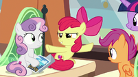"Apple Bloom ""the Storm King invaded"" S8E6"
