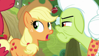 "Applejack ""well, somepony did it"" S9E10"