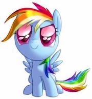 FANMADE Chibi Rainbow Dash