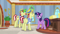 Flim and Flam blackmail Twilight S8E16