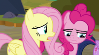 "Fluttershy ""fight our way through our friends"" S9E2"