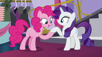 Pinkie -They look scrubbied- S5E14