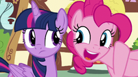Pinkie Pie -nice save, Twilight!- S8E20