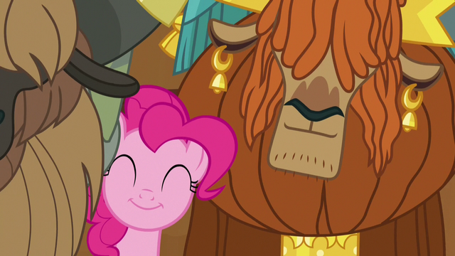 File:Pinkie and Rutherford swaying to yak music S7E11.png
