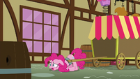 Pinkie with head on the ground S5E19