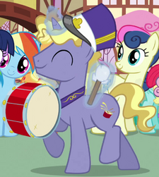 Ponet drum cutie mark ID S03E04