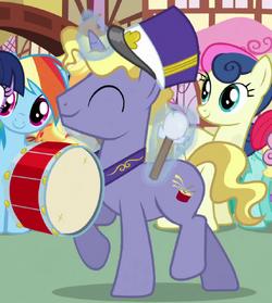 Ponet drum cutie mark ID S03E04