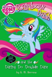 Portada de Rainbow Dash and the Daring Do Double Dare