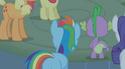 Rainbow Dash no wings S01E09