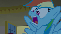 "Rainbow freaking out ""they're gone!"" S8E5"