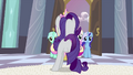 Rarity in front of Cadance S2E25.png
