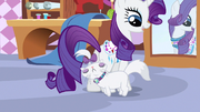 Rarity sees Opal S3E11