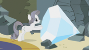 Rarity with her -diamond- S2E1