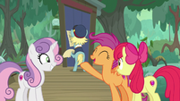 "Scootaloo ""grown-ups always know the way!"" S9E22"