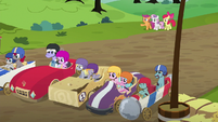 Scootaloo --the only older ponies driving!-- S6E14