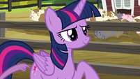 Spike tapping on Twilight S6E10