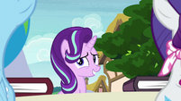 Starlight uncomfortable with the silence S8E17