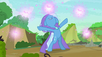 Trixie making fireworks S7E17