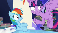 Twilight Sparkle excited to explain S7E25