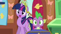 Twilight and Spike impressed S03E13