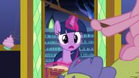 Twilight notices Pinkie Pie and Sludge S8E24
