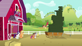 Apple Bloom jumps off stack of cookie boxes S6E15.png