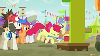 Apple Bloom slams the hammer down S9E22