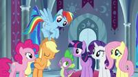 Applejack -Equestria's best interests- S9E1