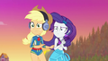 Applejack and Rarity look at Rainbow Dash EGDS15.png
