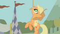 Applejack being suspended in the air S1E13.png