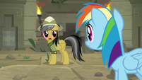 "Daring Do ""and without a map"" S9E21"